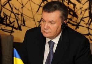 Янукович заявил, что газовый вопрос с Россией решается медленно