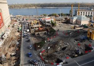 Киев получил из госбюджета дополнительные деньги на реконструкцию Почтовой площади и строительство метро