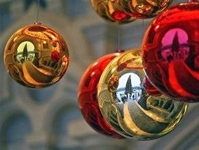 В Москве зажгут новогоднюю энергосберегающую гирлянду
