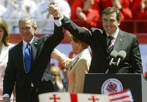 Саакашвили: во время августовской войны в 2008 году США привели свою авиацию в полную боеготовност