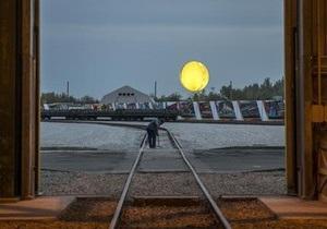 Знаменитый художник Олафур Элиассон возвел над Днепропетровском искусственное солнце