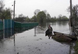 Днепр - наводнение - потоп - паводок - половодье - погода - Половодье продолжается только на Днепре и Десне - Кульбида