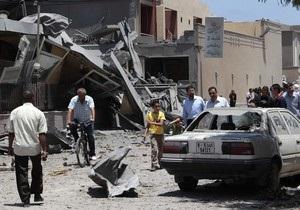 Силы НАТО атаковали жилой район Триполи