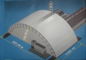 Азаров обещает, что новый саркофаг ЧАЭС будет построен до 2014 года