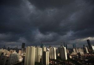 На Шанхай обрушился тайфун Хайкуй