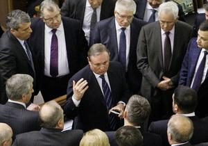 Ефремов отвергает обвинения в саботаже заседаний комитета по вопросам евроинтеграции