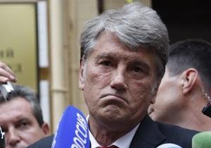 Ющенко: Украина в шаге от белорусского сценария
