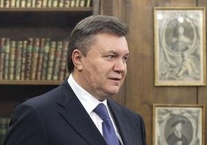 Янукович назвал единственное препятствие на пути евроинтеграции Украины