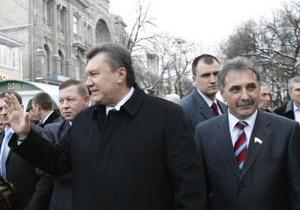 Янукович решил назначить экс-спикера Крыма херсонским губернатором