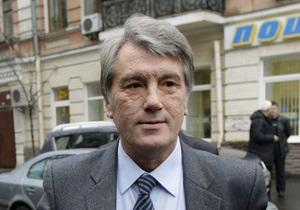 Ющенко о взрывах в Макеевке: Это гнилая, дикая бытовуха