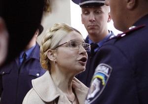 НГ: Тимошенко просится в тюрьму