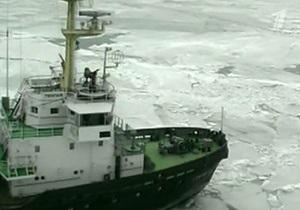 Спасатели эвакуировали экипаж c горящего в Азовском море сухогруза