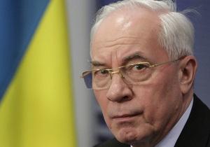 Азаров отрицает слухи о кредитах со стороны Запада в обмен на освобождение Тимошенко