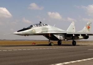 В России потерпел крушение МиГ-29