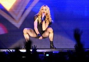 Мадонна опоздала на концерт в Киеве более чем на три часа