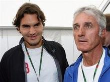Роджер Федерер познакомился с Валентино Росси и мотогонками