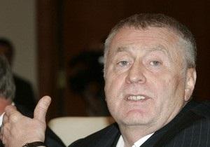 Жириновский: В Украине нет пророссийских кандидатов, способных победить