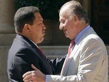 Уго Чавес на час опоздал на встречу с испанским королем
