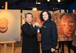 В Киев приехал один из самых продаваемых азиатских художников