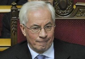 Азаров назвал 2012 год решающим для создания благоприятного бизнес-климата в Украине