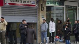 Безработица в Испании перешагнула пятимиллионный рубеж