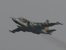 В зоне грузино-осетинского конфликта пролетел штурмовик Су-25
