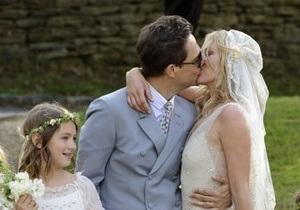 Супермодель Кейт Мосс вышла замуж за гитариста The Kills