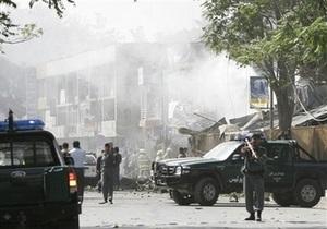 Террористы-смертники атаковали Кабул