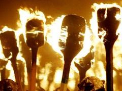 Бандера - Новости Киева - митинг в честь Бандеры - День рождения Бандеры - Факельное шествие Бандеры
