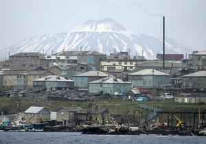 Глава МИД Японии с воздуха осмотрит Курильские острова