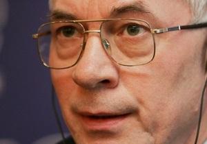 Азаров жалуется на дорогой российский газ: За какие такие грехи мы так наказаны?