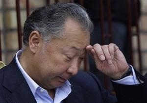 Источник: Президент Кыргызстана сложил полномочия
