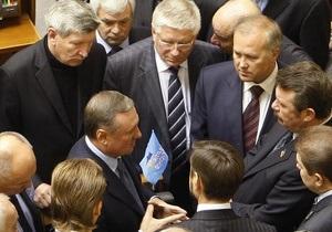 В ПР заявляют, что депутатскую неприкосновенность могут отменить на следующей сессии