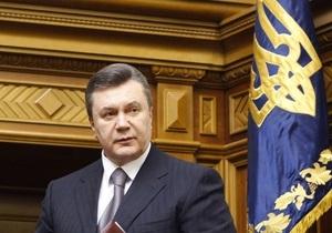 Херсонский облсовет просит Януковича отменить указы Ющенко