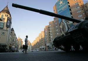 Завтра центр Киева перекроют в связи с репетицией парада ко Дню Победы