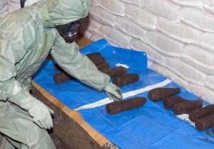 Повстанцы нашли в отбитом у сил Каддафи городе склад химического оружия