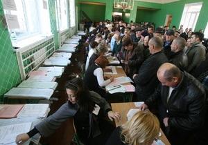 Фотогалерея: Козин голосует. День выборов в  украинском Беверли-Хиллз
