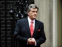 Ющенко открыл в Лондоне выставку, посвященную Голодомору