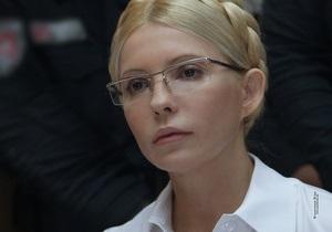Суд отказался освободить Тимошенко из-под стражи