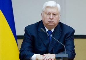 Пшонка заверил, что в допросах Тимошенко и Турчинова нет политики