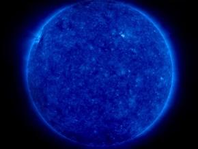 Российский спутник зафиксировал новый цикл активности Солнца