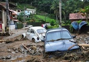 Жертвами наводнения в Бразилии стали более 600 человек. В пострадавший город направлены войска