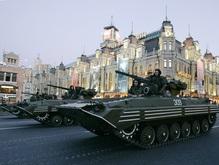 Сегодня вечером пройдет генеральная репетиция военного парада
