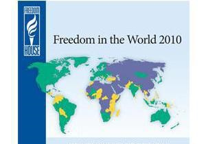 Freedom House объявила о мощнейшем за 15 лет отступлении от демократических свобод