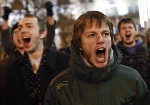 Митинги против итогов выборов в Госдуму начались в Екатеринбурге и Томске