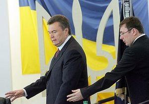 Янукович: На депутатов, которые хотят уволить Луценко, идет давление и шантаж