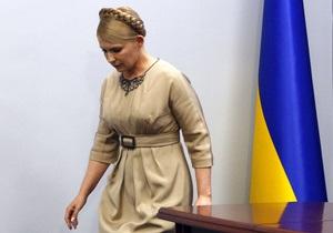Сегодня в комитетах Рады состоится пресс-конференция Тимошенко