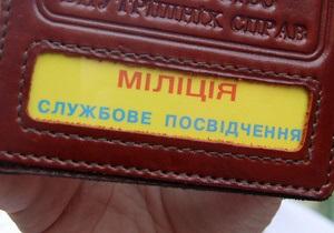 Китай подарил милиции Харькова дозорный броневик