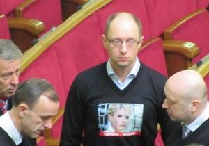 Яценюк взял на себя вину за попадание Табаловых в Верховную Раду
