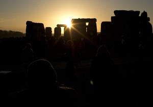 День зимнего солнцестояния: Сегодня световой день начинает увеличиваться